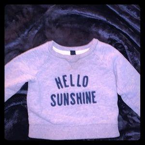 Gap sweatshirt, size 18-24 mos